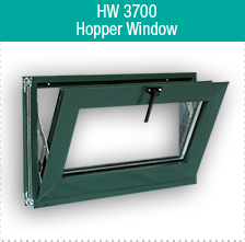 HW 3700 Hopper Window